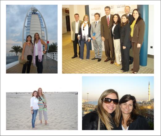 Viagem a Dubai para prospecção de projetos internacionais de arquitetura pela Apex.